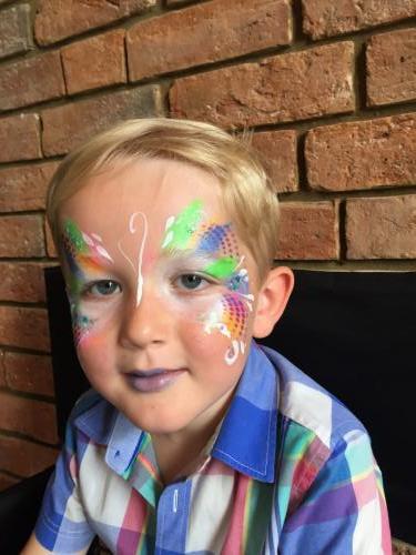 Boy's butterfly